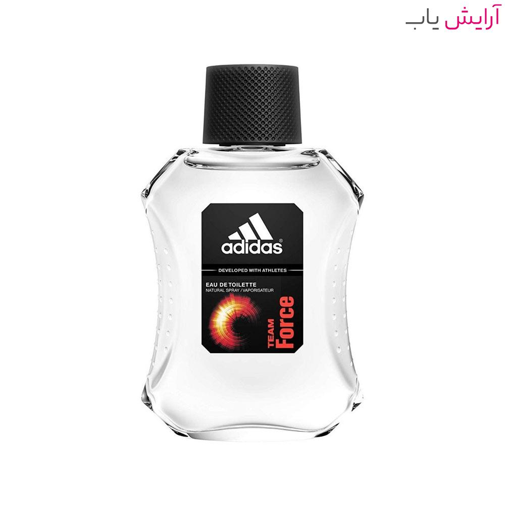 ادو تویلت مردانه آدیداس Team Force حجم 100ml - خرید Adidas Team Force Eau De Toilette For Men 100ml