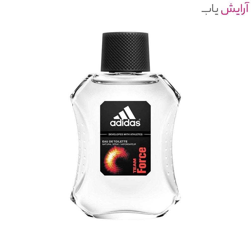 ادو تویلت مردانه آدیداس Team Force حجم 100ml - خرید Adidas Team Force Eau De Toilette For Men 100ml