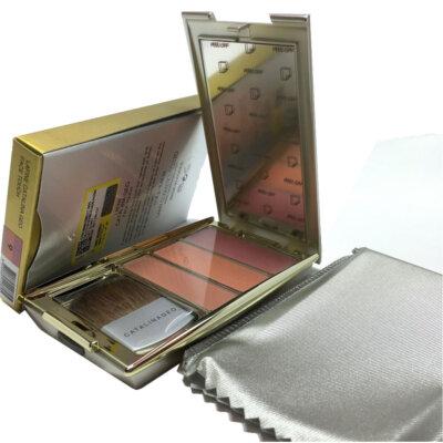 رژگونه سه رنگ جیو شماره 9 - خرید Catalina Geo Face Touch 9