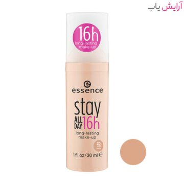 کرم پودر اسنس Stay All Day شماره 20 - طبیعی - Essence Stay All Day 16H Makeup Foundation 30ml No.20 Soft Nude