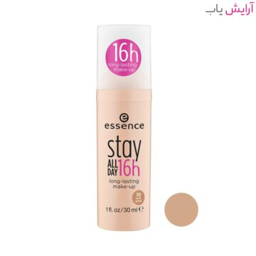 کرم پودر اسنس Stay All Day شماره 30 - گندمی - Essence Stay All Day 16H Makeup Foundation 30ml No.30 Natural