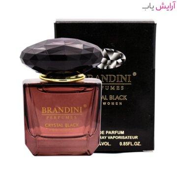 عطر زنانه برندینی مدل Crystal Black حجم 25 میل - Brandini Crystal Black Eau De Parfum For Women 25ml