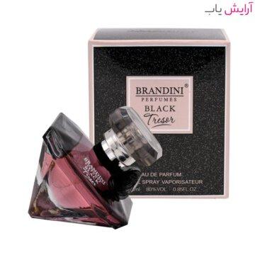 عطر زنانه برندینی مدل Tresor Black حجم 25 میل - Brandini Tresor Black Eau De Parfum For Women 25ml