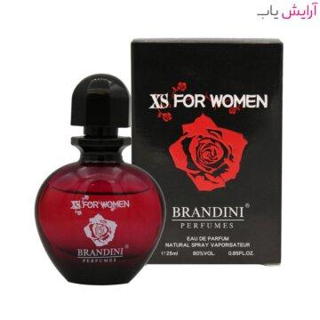 عطر زنانه برندینی مدل XS for Women حجم 25 میل - Brandini XS for Women Eau De Parfum For Women 25ml