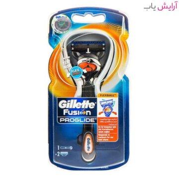 خود تراش ژیلت مدل Fusion Proglide Flexball به همراه یک تیغ یدک - Gillette Fusion Proglide Flexball With 1 Blade
