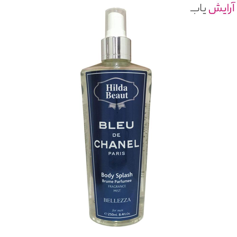 بادی اسپلش هیلدا بیوت مدل CHANEL مخصوص آقایان - hilda beaut CHANEL body splash