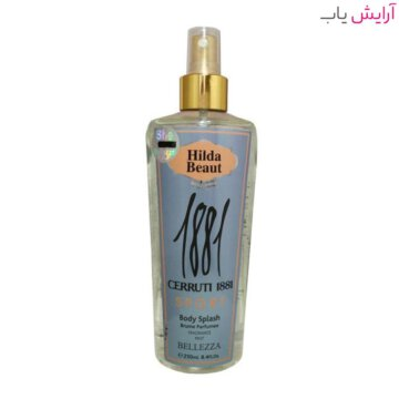 بادی اسپلش هیلدا بیوت مدل CERRUTI 1881 - خرید hilda beaut cerruti 1881 body splash
