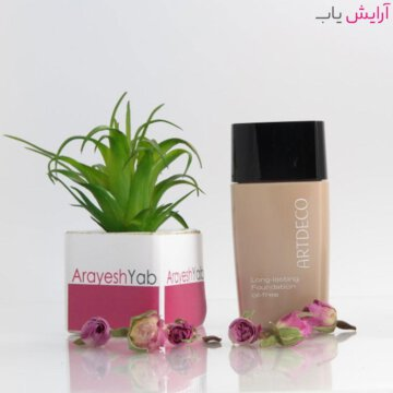 کرم پودر آرت دکو شماره 04 سری LONG LASTING - Artdeco Long-Lasting Oil-Free Foundation