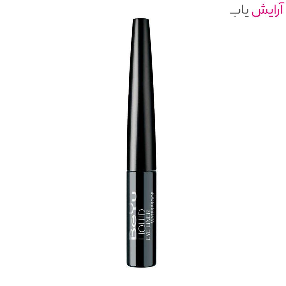 خط چشم بیو مدل WP10 ضدآب - BeYu Liquid Eyeliner WP10 Waterproof