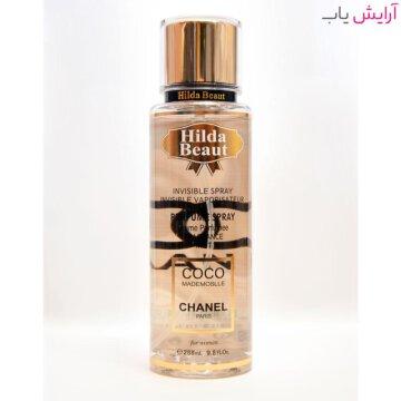 بادی پرفیوم هیلدا بیوت مدل Coco chanel - خرید hilda beaut Coco chanel body perfume