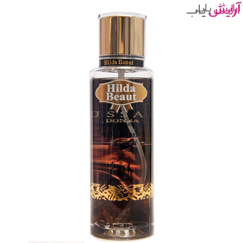 بادی پرفیوم هیلدا بیوت مدل Donna Trussardi - hilda beaut Donna Trussardi body perfume